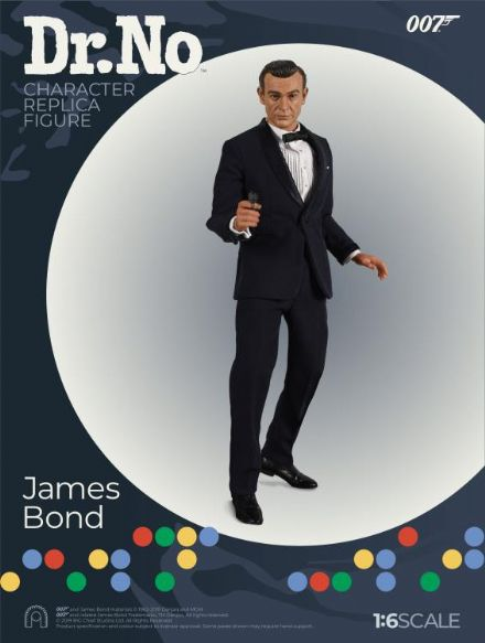 *Pre Order* Big Chief Studios Ltd Ed. James Bond Dr. No: 1:6scale 007 James Bond Action Figure